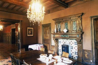 Dining Room of Chateau of Grezan, Languedoc-Roussillon, France--Photographic Print
