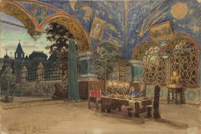 Dining Room of Prince Vasily Golitsyn, 1897-Appolinari Mikhaylovich Vasnetsov-Giclee Print