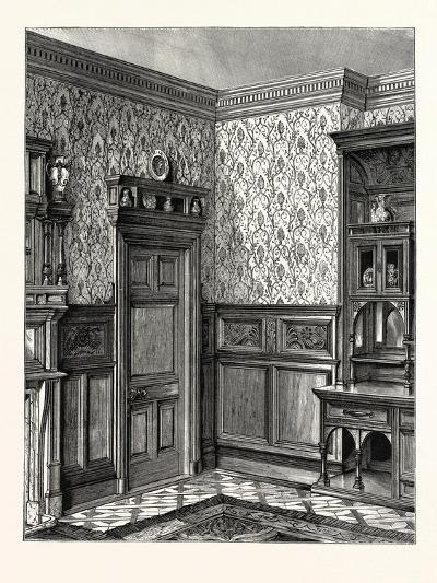 Dining Room Woodwork, Messrs. Howard and Sons--Giclee Print