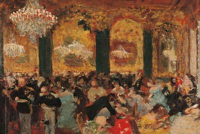 Dinner at the Ball-Edgar Degas-Art Print