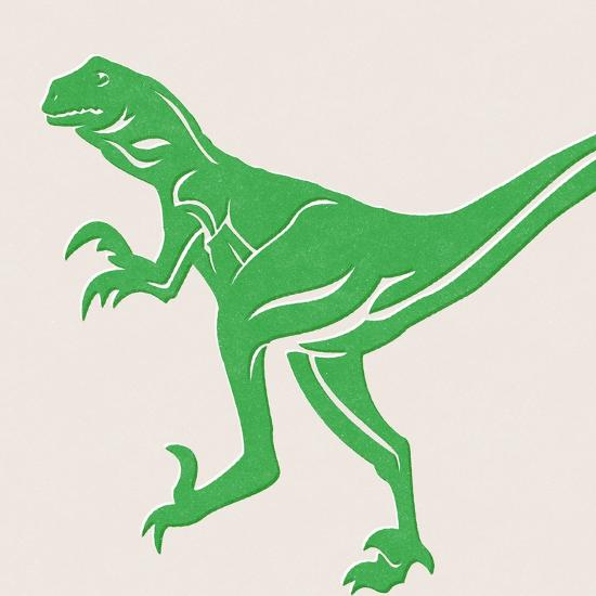 Dino 1-Linda Woods-Art Print