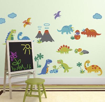 Dino Friends--Wall Decal