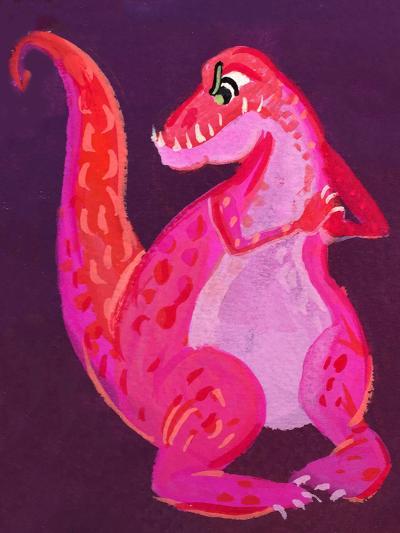Dinodan-Cara Kozik-Art Print