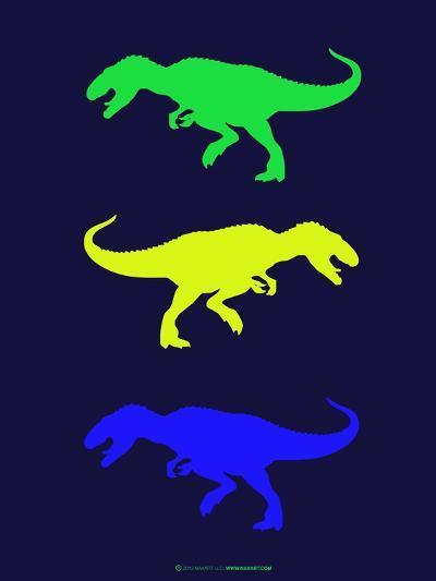 Dinosaur Family 23-NaxArt-Art Print