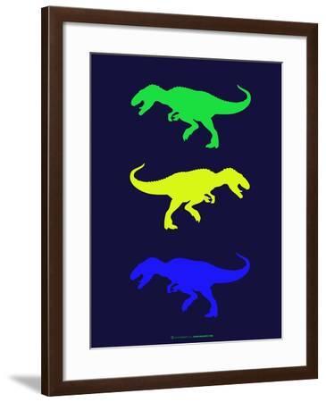 Dinosaur Family 23-NaxArt-Framed Art Print