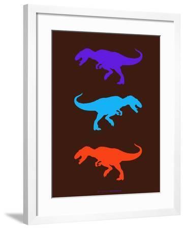 Dinosaur Family 24-NaxArt-Framed Art Print