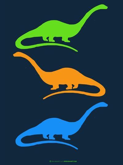 Dinosaur Family 25-NaxArt-Art Print