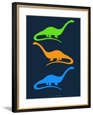 Dinosaur Family 25-NaxArt-Framed Art Print
