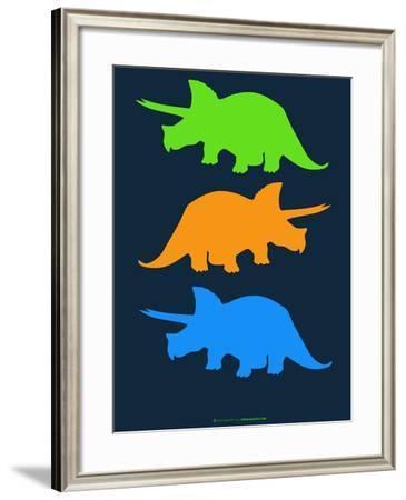 Dinosaur Family 6-NaxArt-Framed Art Print