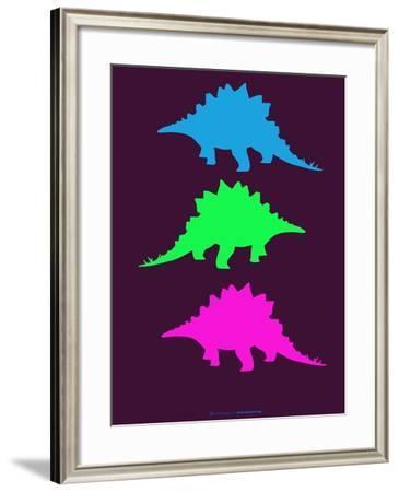 Dinosaur Family 9-NaxArt-Framed Art Print