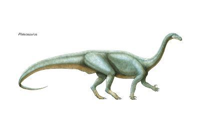 Dinosaur-Encyclopaedia Britannica-Art Print