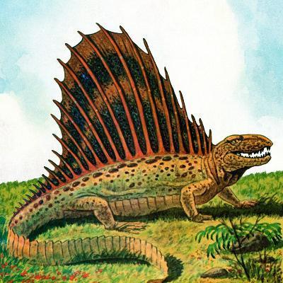 Dinosaurs - Jack & Jill-Edward F. Cortese-Giclee Print