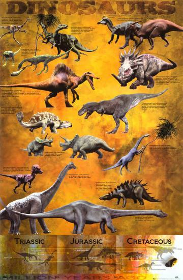 Dinosaurs--Poster