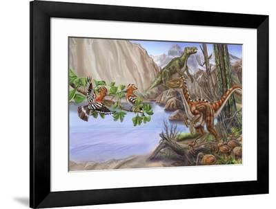 Dinotreasures 13-Cathy Morrison Illustrates-Framed Giclee Print