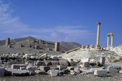 Diocletian's Camp and Tower Tombs, Palmyra--Photographic Print
