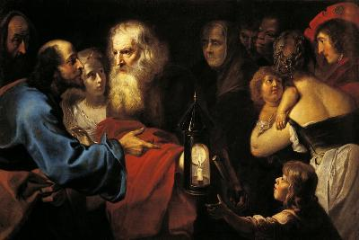 Diogenes in Search of Man-Pieter van Mol-Giclee Print
