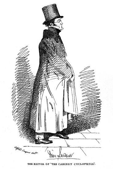Dionysius Lardner, Irish-Born Scientific Writer, 1835-Daniel Maclise-Giclee Print