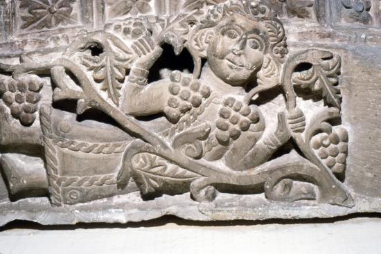 Dionysos, Limestone relief, Ahnassia El-Medina, Beni-Souef, 3rd Century-Unknown-Giclee Print