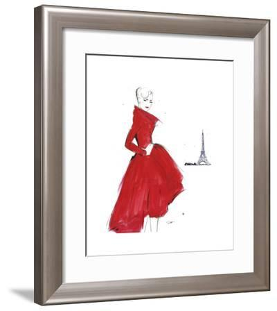 Dior and Paris-Jessica Durrant-Framed Giclee Print