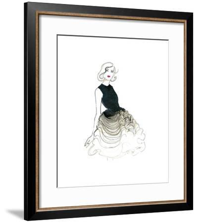 Dior does Ombre-Jessica Durrant-Framed Giclee Print