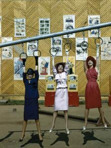 Dior Models in Soviet Union for Officially Sanctioned Fashion Show