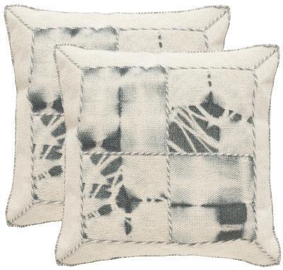 Dip-Dye Quartre Patch Pillow Pair - Seasalt--Home Accessories
