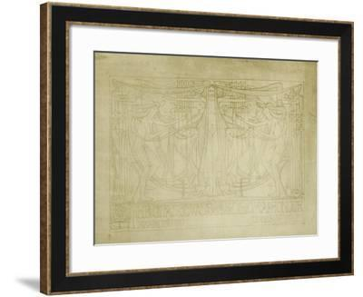 Diploma of Honour Designed for the Glasgow School of Art Club, 1894-5-Charles Rennie Mackintosh-Framed Giclee Print