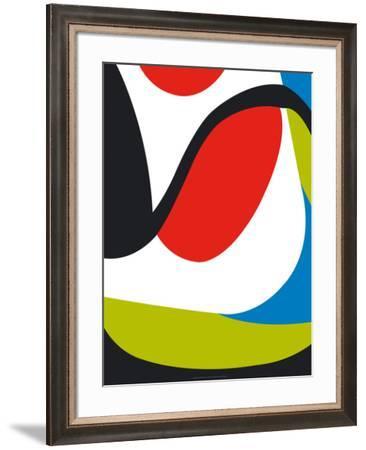 Diptyque, c.2009 (left)-Anne Montiel-Framed Serigraph
