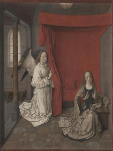 The Annunciation, c.1450-55 by Dirck Bouts
