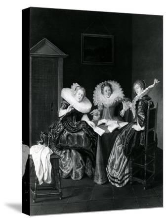 Musical Scene, 1637
