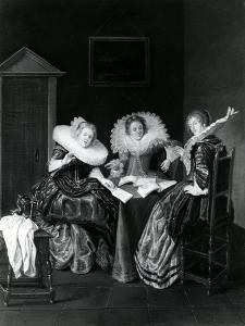 Musical Scene, 1637 by Dirck Hals