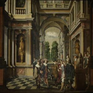 A Gallery by Dirck Van Delen