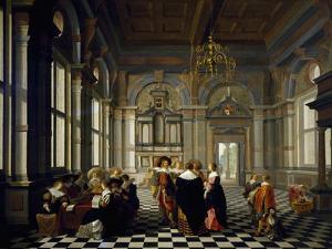 Musical Entertainment, 1632 by Dirck Van Delen