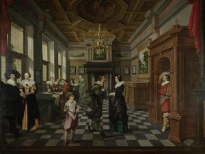 Wealthy Interior by Dirck Van Delen