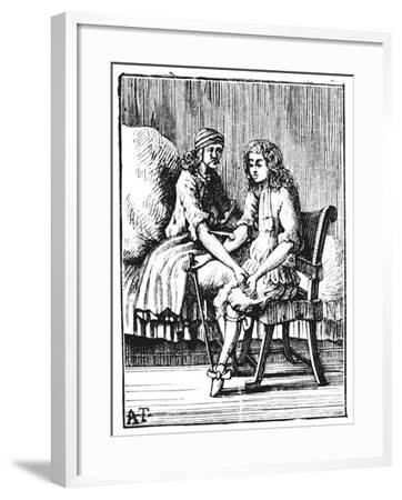 Direct Person-To-Person Blood Transfusion, 1679--Framed Giclee Print
