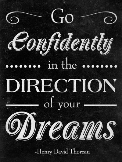Direction of your Dreams--Premium Giclee Print