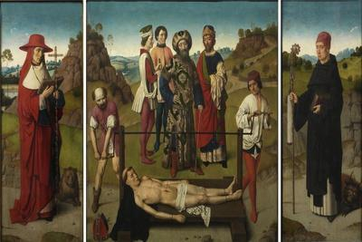 Martyrdom of Saint Erasmus (Triptyc), 1458