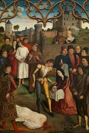 The Justice of Emperor Otto III: Beheading of the Innocent Count, 1471-1475