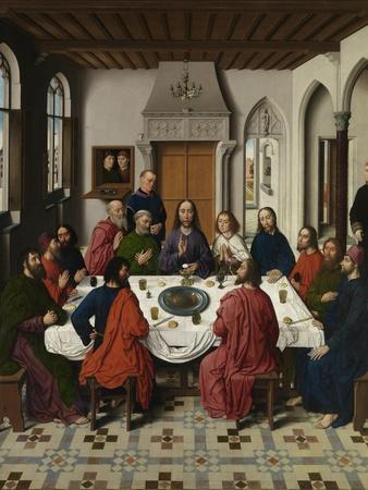 The Last Supper Altarpiece (Central Pane), 1464-1468