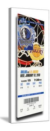 Dirk Nowitski 20,000 Point Game Mega Ticket - Dallas Mavericks