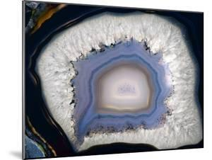 Agate, Artificially Coloured by Dirk Wiersma