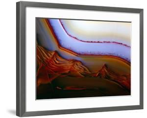 Banded Texture In Agate by Dirk Wiersma