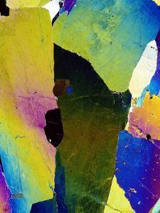 Hornblende Crystals by Dirk Wiersma