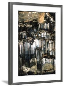 Schorl Mineral by Dirk Wiersma