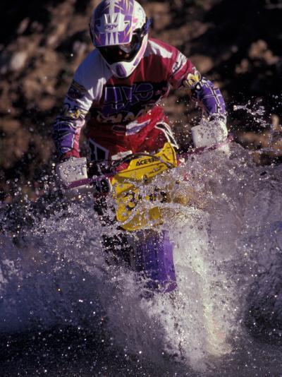 Dirt Biking, Colorado, USA-Lee Kopfler-Photographic Print