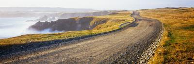 Dirt Road Passing Through a Landscape, Cape Bonavista, Newfoundland, Newfoundland and Labrador--Photographic Print