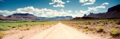 Dirt Road Passing Through a Landscape, Onion Creek, Moab, Utah, USA--Photographic Print