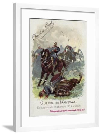 Disaster of Thaba Nchu, 30 March 1900--Framed Giclee Print