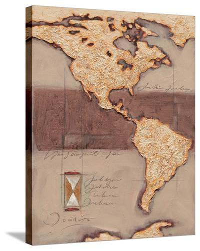 Discover America-Joadoor-Stretched Canvas Print