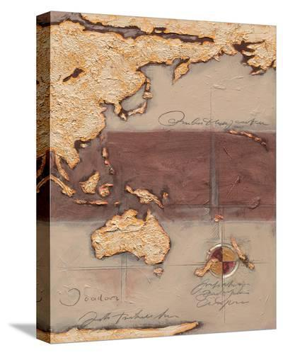 Discover Australia-Joadoor-Stretched Canvas Print